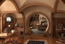 Hobbit Hole for my home / by Amanda Tissue
