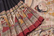 Magical Madhubani Print Sarees