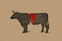 Beef, Pork, Meat and Livestock Home Decor
