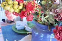 Summer Porch Parties / Creative ideas on how to have gatherings on the porch or in your sun room!
