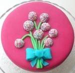 Taart-Taarten / Taarten decoreren taartdecoreren, taart versieren, werken met marsepein en fondant, marsepeintaart, fondanttaart.