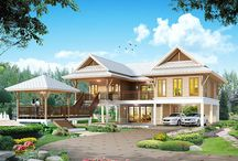 Asian style house