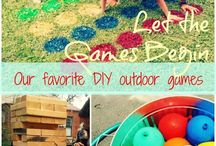 Outdoor games and party ideas