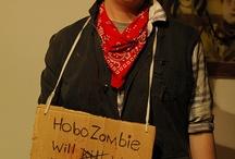 Hobo theme party