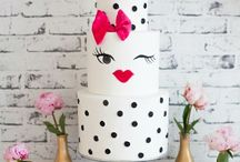 kate spade party inspiration & ideas / kate spade, designer party, girly party, kate spade New York, engagement party, bridal shower