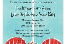 Summer Party Invitations / #SummerpartyIdeas