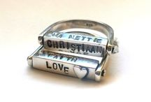 Name & Phrases necklaces/rings