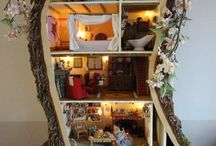 Dollhouse / For Rosie and her calico critters