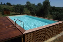 divisione piscine / La Dorica Legnami Castellani è rivenditore ufficiale delle piscine LAGHETTO