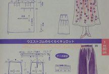 일본 모든옷 패턴