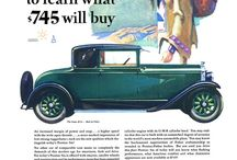 vintage car poster adv