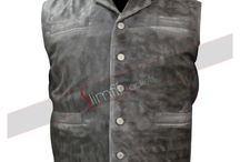 Hell on Wheels Cullen Bohannan Leather Vest / Buy this stylish Anson Mount Hell on Wheels Vest at cheap price with free shipment.