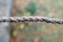 rope cord knots sewing seam węzły liny sznurki szycie sploty ściegi