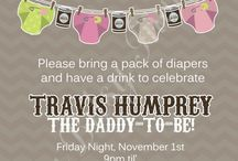 Cody's Beer and Diaper Bash!!