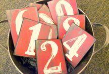numbers/script/ABC's / by Sally Kleppen