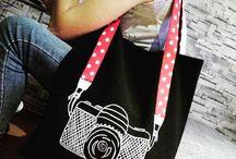 Fotoğraf Makinesi Tasarım Çanta / Özel renkleriyle el emeği özel tasarım çantalar.
