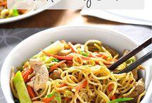 Noodles & wok gerechten