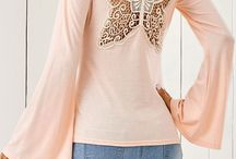 pink butterfly long sleeve