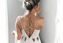 спинка платья