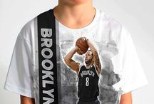 Brooklyn Nets / Officially licensed NBA player graphic apparel for all of the Brooklyn Nets top players.