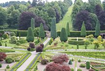 Drummond Castle Garden / Classic renaissance garden.