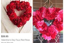 How to make a heart-shaped Valentine's Day Wreath !