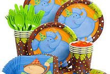 Jungle Theme Party Ideas / Welcome to the Jungle! Check out these themed party supplies and ideas.