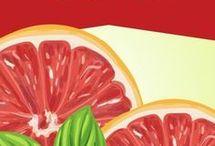 Jengibre y pomelos para bajar el estómago