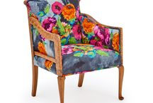 The Antique Peoni Rose Armchair