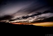 Amaneceres y puestas de sol.