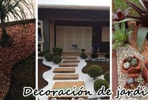 Jardines secos con piedras - dry gardens with stones