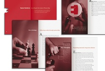 DESIGN: layouts + brochures / by Telva MT
