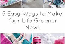 Go Green! / Help save our environment by making conscious choices in all areas of you life! This will not only help to preserve Mother Earth for future generations, but will also help you to attain a happier, simpler life with less clutter and toxins.