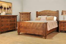 Bedroom storage / Your bedroom is sure to #benefit from the #beauty of #Amish made furniture. Stay easily #organized with the help of one-of-a-kind storage.