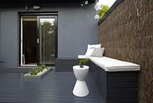 Dark grey deck