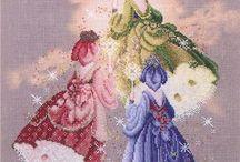 X-stitch fairy