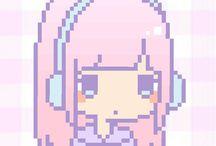 Pixel kawaii