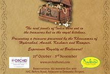 Jewels Of India / The real jewels of India were in the royal kitchens and not in the royal treasures.  'Jewels Of India' brings you cuisines from Kashmir, Hyderabad, Mughal, Awadh & Rampur at Boulevard from 21st Oct to 3rd Nov. / by The Orchid Hotel, Mumbai