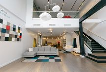 Interior Define Chicago Showroom / Our original showroom was located in the Wicker Park neighborhood of Chicago. We quickly outgrew that space and have moved into a beautiful space in the Lincoln Park Neighborhood.   We could not be happier with our Flagship Location. Feel free to stop by to test a sofa or two!  833 W. Armitage, Chicago, IL, 60614