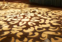 texture lighting / gobo or texture lighting examples and inspiration / by Superlative Events