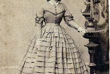 1860' dress