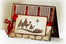 Handmade Cards- SU- Come to Bethlehem