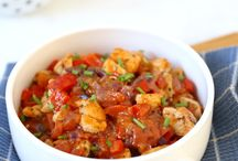 stoofpotje met kip en paprika