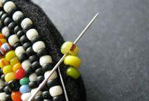bead-embroidery technieken