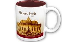 SE Asia / Phnom Penh Coffeehouse style mug