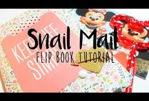 snail mail flip books