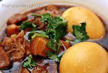 Vietnamese salt pork and eggs