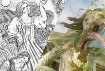Mythologies / Grecque, celte, nordique, slave, japonaise,...
