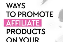 Affiliate Marketing / Every successful business sells other people's products. Here's some great tips.