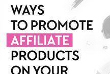 Affiliate Marketing / Make money with affiliate marketing